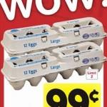 Lucerne Large Eggs, One Dozen, Only $0.99 at Safeway!