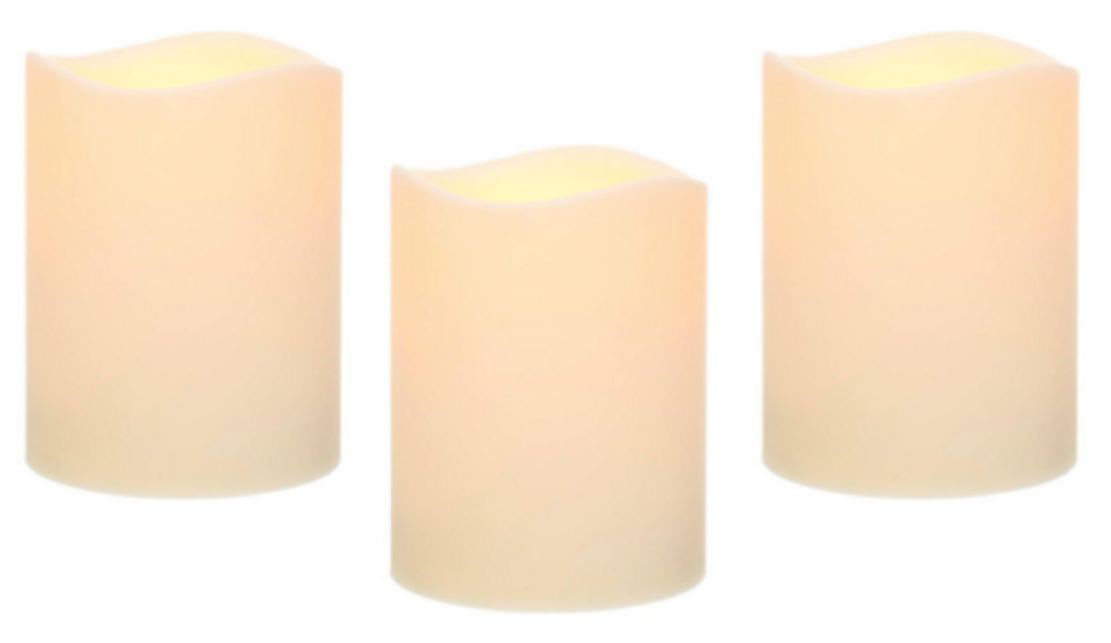 Home Depot: LED Candle with Timer Just $3 75 (down from $14 98)!