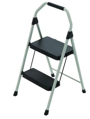 Home Depot Gorilla 2 Step Compact Steel Step Stool