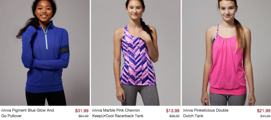 Ivivva coupons