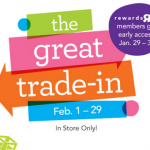 Babies R US The Great Trade In Event 2016: Starting January 29th for Rewards R Us Members!