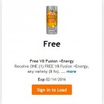 King Soopers & Kroger Friday Freebie: V8 Fusion + Energy!