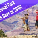National Parks 2016 FREE Admission Day Calendar