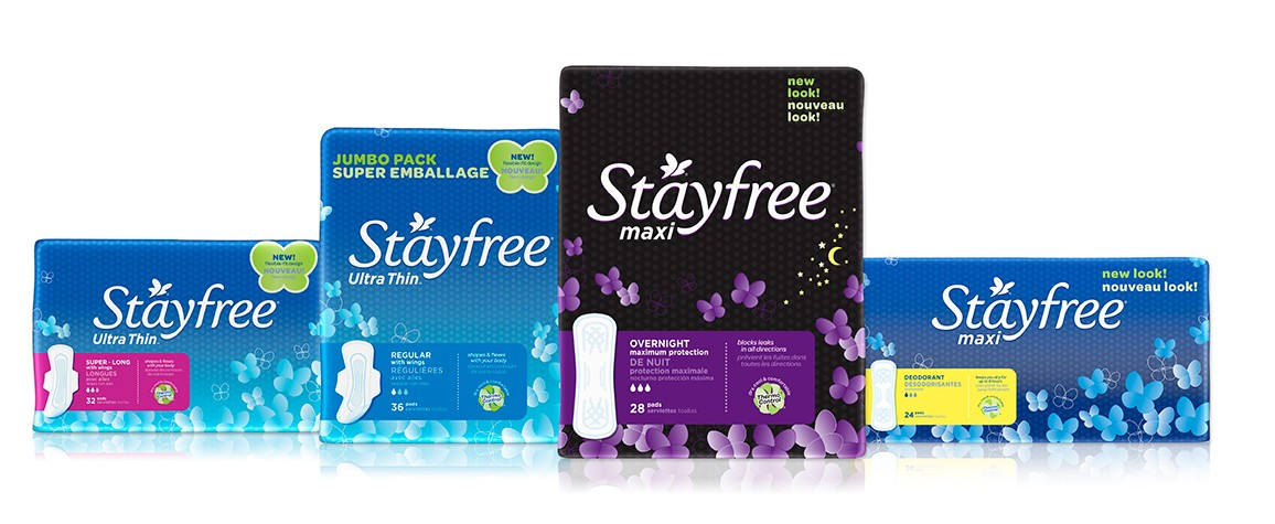 HOT* FREE Stayfree Products at King Soopers & Kroger!