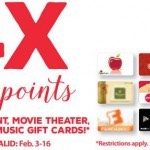Earn 4X Fuel Points on Select Gift Cards at King Soopers & Kroger!