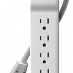 Amazon: 6 Foot 6-Outlet Rotating Plug with Surge Protector for Just $7 (down from $48.99)!
