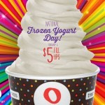 National Frozen Yogurt Day (2/6) Offers!