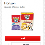Horizon Coupon Reset = Snack Crackers for As Low As $0.98 At Target!