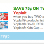 Target: Yoplait GoGurt 8 Packs for $1.25 with Double Stack!