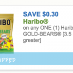 New Haribo Gummi Bear Coupon + Walgreens Scenario!