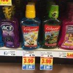 Colgate Kids Mouthwash Only $0.99 at King Soopers & Kroger!