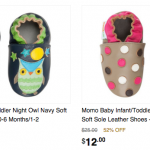 Momo Soft Baby Shoes for Only $12 + FREE Shipping!