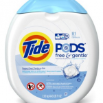*HOT* Tide PODS Free and Gentle 81ct Pods Only $12.82 Shipped from Amazon!
