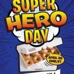 Krispy Kreme: Buy One Dozen Doughnuts, Get a Dozen FREE on April 28th!
