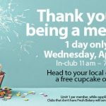 FREE Cupcakes at Sam's Club Tomorrow, April 13th!