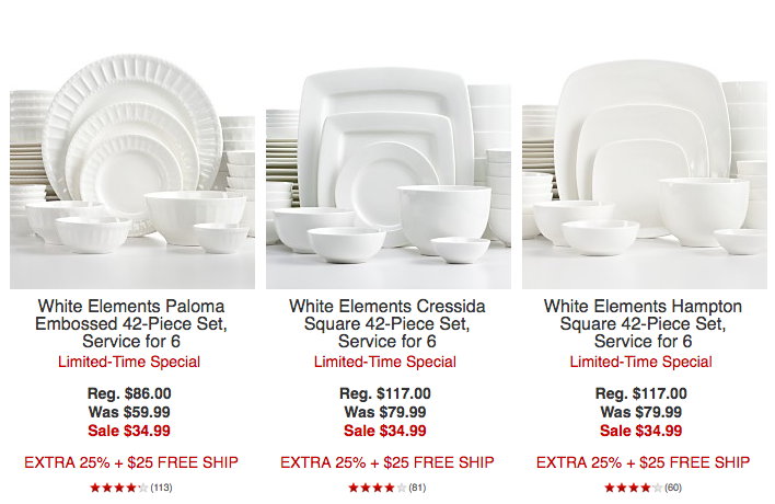 Screen Shot 2016-05-01 at 7.18.13 AM  sc 1 st  Bargain Blessings & Macyu0027s: 42-Piece Dinnerware Sets (service for 6) Only $26.24 + FREE ...