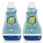 Amazon: Two 30oz Bottles of All Fresh Clean Essentials Detergent for Just $4.48 + FREE Shipping!