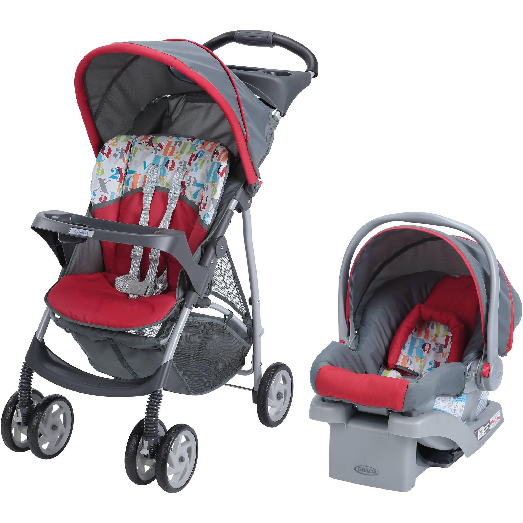 Walmart Graco Literider Click Connect Travel System Car