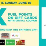 Earn 4X Fuel Points on Gift Cards at King Soopers & Kroger Through June 19th!