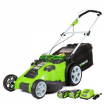 Greenworks Twin Force 20″ 40V Mower Just $279.99 (down from $349.99) + FREE Shipping!