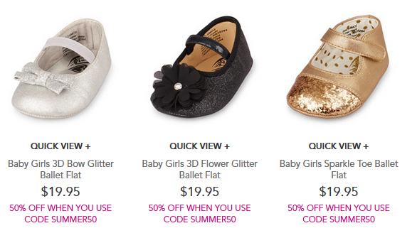 CP baby shoes