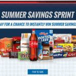 King Soopers & Kroger Summer Savings Sprint Instant Win Game, Recipes, Coupons + More!