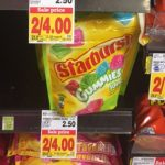Starburst Gummies Candy Only $1.00 at King Soopers & Kroger!