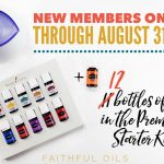 FREE Young Living Cedarwood Oil with Premium Kit Purchase Through August 31st!