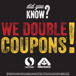 Albertsons Now Doubles Manufacturer Coupons!