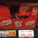 Babybel Cheese, 10 Count, Only $2.50 at King Soopers & Kroger!
