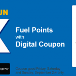 Earn 4X Fuel Points on Gift Cards at King Soopers & Kroger This Weekend Only!
