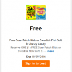 King Soopers & Kroger Friday Freebie: Swedish Fish or Sour Patch Kids Candy!