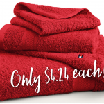 Tommy Hilfiger 100% Cotton Bath Towels Only $4.24 each from Macy's!