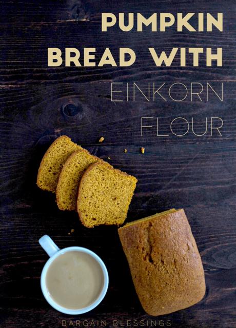 Pumpkin Bread Einkorn Flour