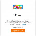 King Soopers & Kroger Friday Freebie: Airheads Bites or Bars Candy!
