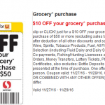 Save $10 On Your Grocery Purchase of $50 or More at Safeway!