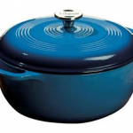 *HOT* Lodge Enameled Cast Iron Dutch Oven, 6-Quart in Blue Only $44.79 (down from $115)!