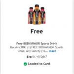 King Soopers & Kroger Friday Freebie: BodyArmour Sports Drink!