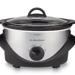 *HOT* Hamilton Beach 4-Quart Black/Stainless Steel Slow Cooker Just $9.99 (down from $32.99)!