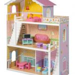 *HOT* Large Children's Wooden Dollhouse Fits Barbie Doll House Just $74.94 (down from $199.95)!