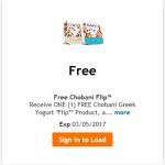 "King Soopers & Kroger Friday Freebie: Chobani Greek ""Flip"" Yogurt!"