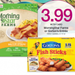 MorningStar Farms Entrees & Gorton's Seafood Only $2.99 at King Soopers & Kroger!