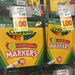 Crayola Markers Only $1.00 at King Soopers & Kroger!
