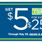 Kohl's Memorial Day Coupon: Save $10 off a $25 Purchase + Get Kohl's Cash!