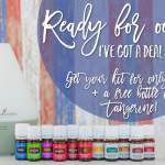 Ready for Oils? Get Your Kit for $135 + a FREE Bottle of Tangerine (only through 5/31)!