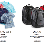 Stacking Kohl's Back to School Coupon Codes: 30% off + FREE Shipping!