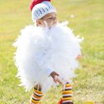 Homemade Toddler Chicken Costume