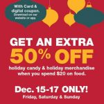King Soopers Christmas Coupon: 50% off Holiday Items with $20 Food Purchase!
